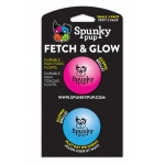 Spunky Pup Fetch Ball Small 2-pack