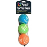 Spunky Pup Glow-in-the-Dark Tennis Balls 3-pack