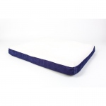 "BioBubble Deluxe Dog Bed Jumbo Navy 42"" x 35"" x 4"""