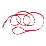 "Coastal Pet Products Single-Ply Nylon Dog Leash Red 3/8"" x 72"""