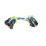 "Coastal Rascals Knot Rope Tug Toy Multi-colored 8.5"" x 8"" x 2.5"""