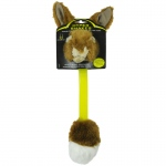 Hyper Pet Hyper Shakes Rabbit Dog Toy Brown