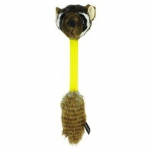 Hyper Pet Hyper Shakes Raccoon Dog Toy Brown