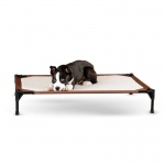 "K&H Pet Products Self-Warming Pet Cot Large Brown 30"" x 42"" x 7"""