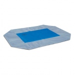 "K&H Pet Products Coolin' Pet Cot Cover Large Gray / Blue 30"" x 42"" x 0.25"""