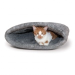 "K&H Pet Products Amazin' Kitty Sack Gray 22"" x 20"" x 20"""