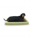 "K&H Pet Products Comfy n' Dry Indoor-Outdoor Pet Bed Small Green 18"" x 26"" x 2.5"""