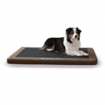 "K&H Pet Products Comfy n' Dry Indoor-Outdoor Pet Bed Large Chocolate 36"" x 48"" x 2.5"""
