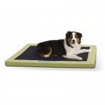 "K&H Pet Products Comfy n' Dry Indoor-Outdoor Pet Bed Large Green 36"" x 48"" x 2.5"""
