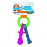 "Nylabone Puppy Chew Teething Pacifier Extra Small 4"" x 2.75"" x 2"""