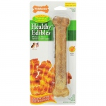 "Nylabone Healthy Edibles Longer Lasting Bacon Dog Treat Large 8"" x 1.75"" x 1"""