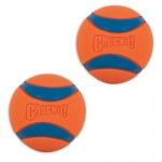 "Petmate Chuckit Ultra Ball Dog Toy 2 pack Medium Orange/Blue 2.55"" x 5.43"" x 6.56"""