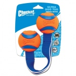 "Petmate Chuckit Ultra Duo Tug Dog Toy Small Orange/Blue 2.5"" x 5.31"" x 8.43"""