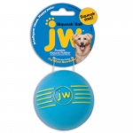"Petmate JW Isqueak Ball Dog Toy Medium Assorted 2.75"" x 2.75"" x 5"""