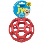 "Petmate JW Hol-Ee Roller Dog Toy Medium Assorted 4.5"" x 4.5"" x 4.5"""