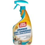 "Simple Solution Orange Oxy Charged Stain and Odor Remover 32oz 2.9"" x 4.8"" x 10.75"""