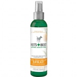 "Vet's Best Flea Itch Relief Dog Spray 8oz Green 1.88"" x 1.88"" x 8"""
