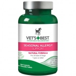 "Vet's Best Dog Seasonal Allergy Support Supplement 60 Tablet Green 2.5"" x 2.5"" x 4.94"""