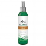 "Vet's Best Pet Natural Flea and Tick Spray 8oz Green 1.75"" x 1.75"" x 7.88"""