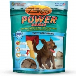 Zuke's Power Bones Natural Endurance Treats for Dogs Beef 6 oz.