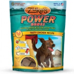 Zuke's Power Bones Natural Endurance Treats for Dogs Chicken 6 oz.
