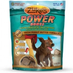 Zuke's Power Bones Natural Endurance Treats for Dogs Peanut Butter 6 oz.