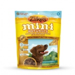 Zuke's Mini Naturals Moist Miniature Treat for Dogs Peanut Butter 6 oz.