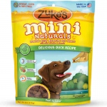 Zuke's Mini Naturals Moist Miniature Treat for Dogs Delicious Duck 6 oz.