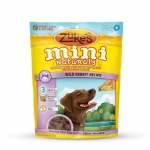 Zuke's Mini Naturals Moist Miniature Treat for Dogs Wild Rabbit 6 oz.