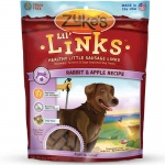 Zuke's Lil' Links Healthy Grain Free Little Sausage Links for Dogs Rabbit and Apple