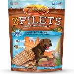 Zuke's Z-Filets Select Grain Free Dog Treat Grilled Beef 3.25 oz.