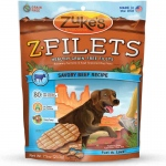 Zuke's Z-Filets Select Grain Free Dog Treat Grilled Beef 7.5 oz.