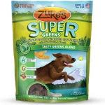 Zuke's Supers All Natural Nutritious Soft Superfood Dog Treats Tasty Greens 6 oz.