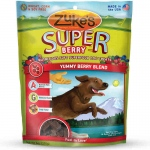 Zuke's Supers All Natural Nutritious Soft Superfood Dog Treats Yummy Berry 6 oz.