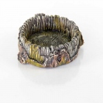 "BioBubble Decorative Stump Bowl Small 5"" x 4"" x 9"""