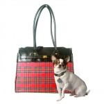 Bark N Bag Tartan Collection: Monaco Tote