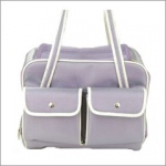 Snoozer Boarding Bag Pet Tote: Lavender