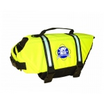 Paws Aboard Safety Dog Life Jacket: Yellow, XLarge