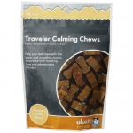 Alcott Traveler Calming Chews Peanut Butter 36 count Brown