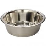 "Bergan Stainless Steel Bowl 17 cups Silver 11.2"" x 11.2"" x 4"""