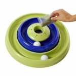 "Bergan Turbo Catnip Hurrican Cat Toy Blue / Green 16"" x 16"" x 3.8"