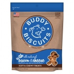Buddy Biscuits Original Soft and Chewy Dog Treats Bacon and Cheese 6 ounces