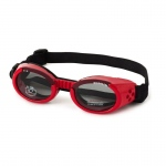 Doggles ILS Dog Sunglasses Medium Red / Smoke