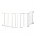 "Kidco Command Custom Fit Free Standing Pet Gate White 24"" x 4.25"" x 29.5"""