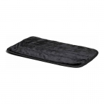 "Midwest Quite Time Deluxe Fur Pet Mat Black 23"" x 17"" x 0.1"""