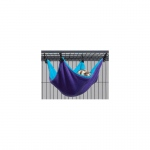 "Midwest Ferret Nation Hammock Hideaway Small Teal / Purple 14"" x 12"" x 6.5"""