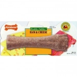 Nylabone Healthy Edible Souper Bone Ham and Cheese Extra Large Brown