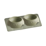 Pura Naturals Pet Feeding Set, Large - Herb