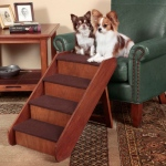 Solvit PupSTEP Wood Stairs: Large
