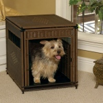 Solvit Mr. Herzher Pet Residence: Small, Dark Brown